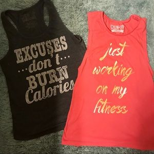 Chin Up • Fitness Tank Bundle
